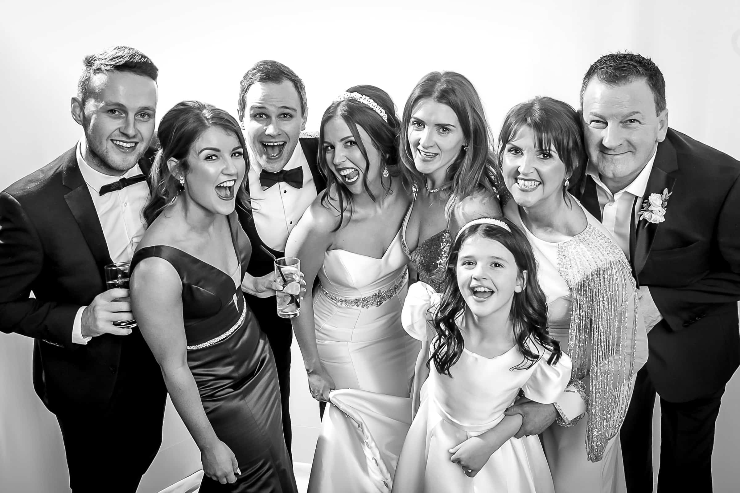 Lauren 47   Black and White Studio Booth   Frans Photo Booth Services Ireland