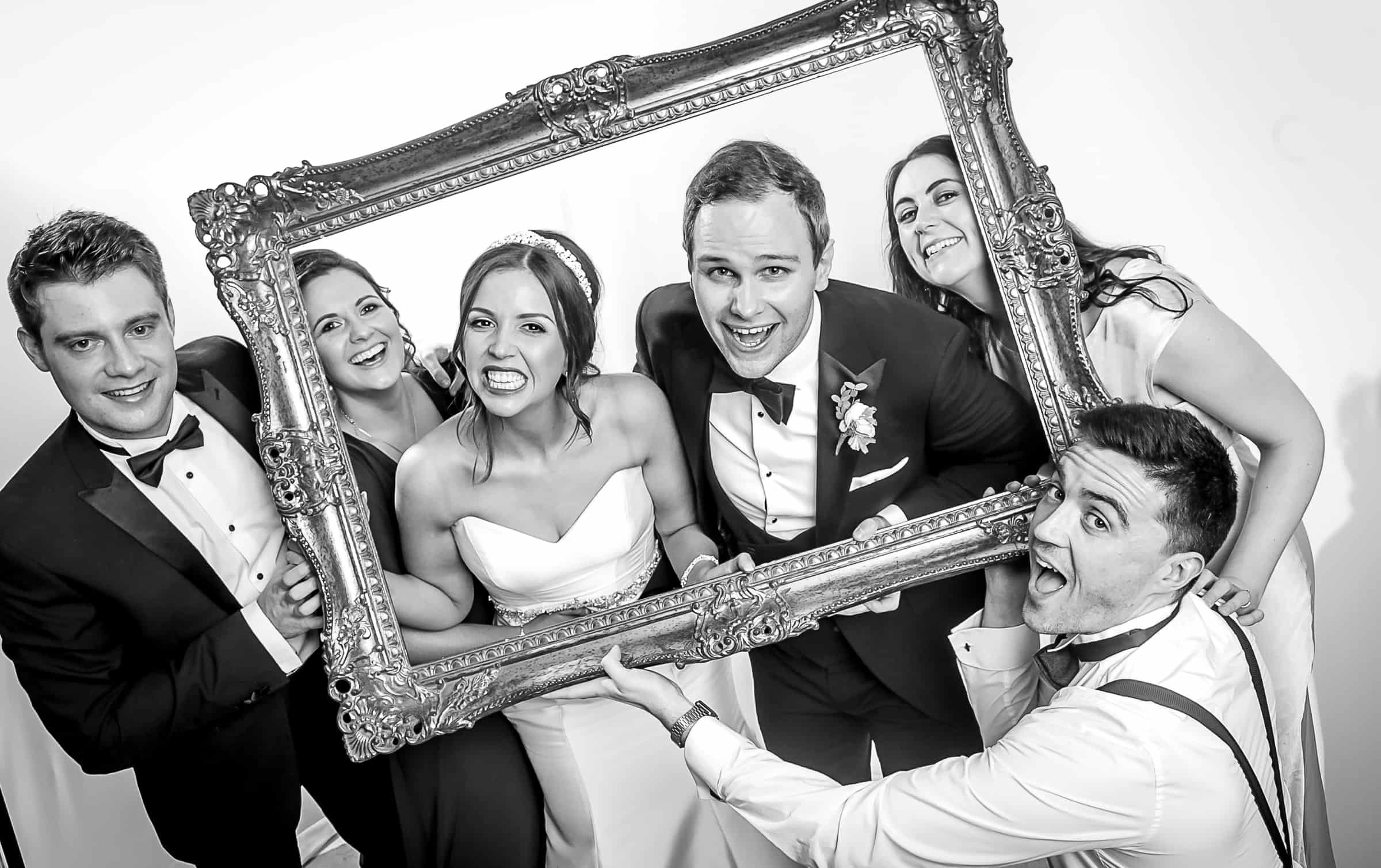 Lauren 110   Black and White Studio Booth   Frans Photo Booth Services Ireland
