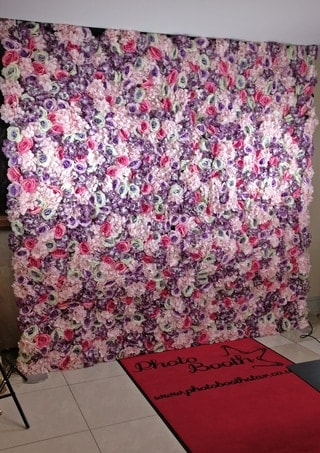 Flower wall for Photobooth