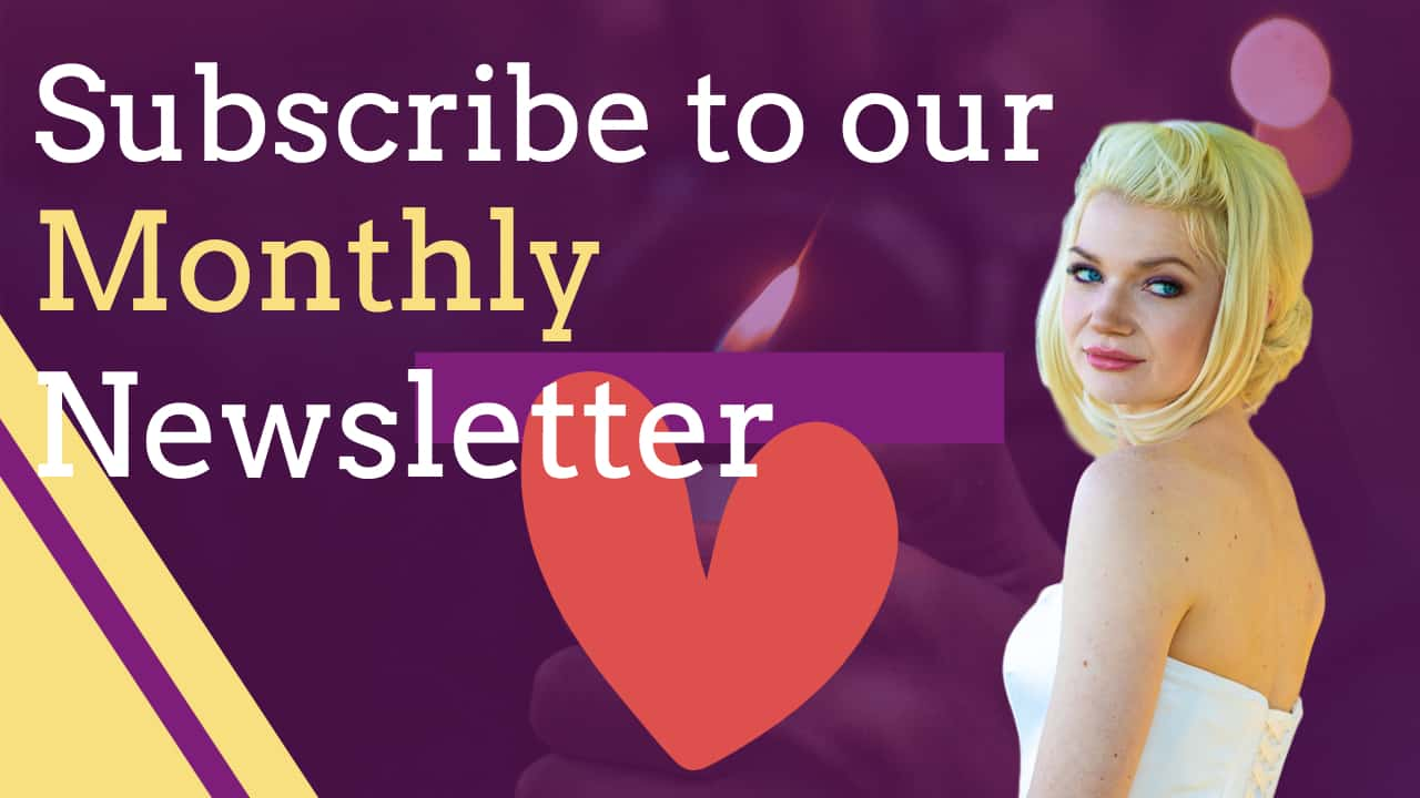 Subscribe to our Monthly Newsletter on Frans Photobooth