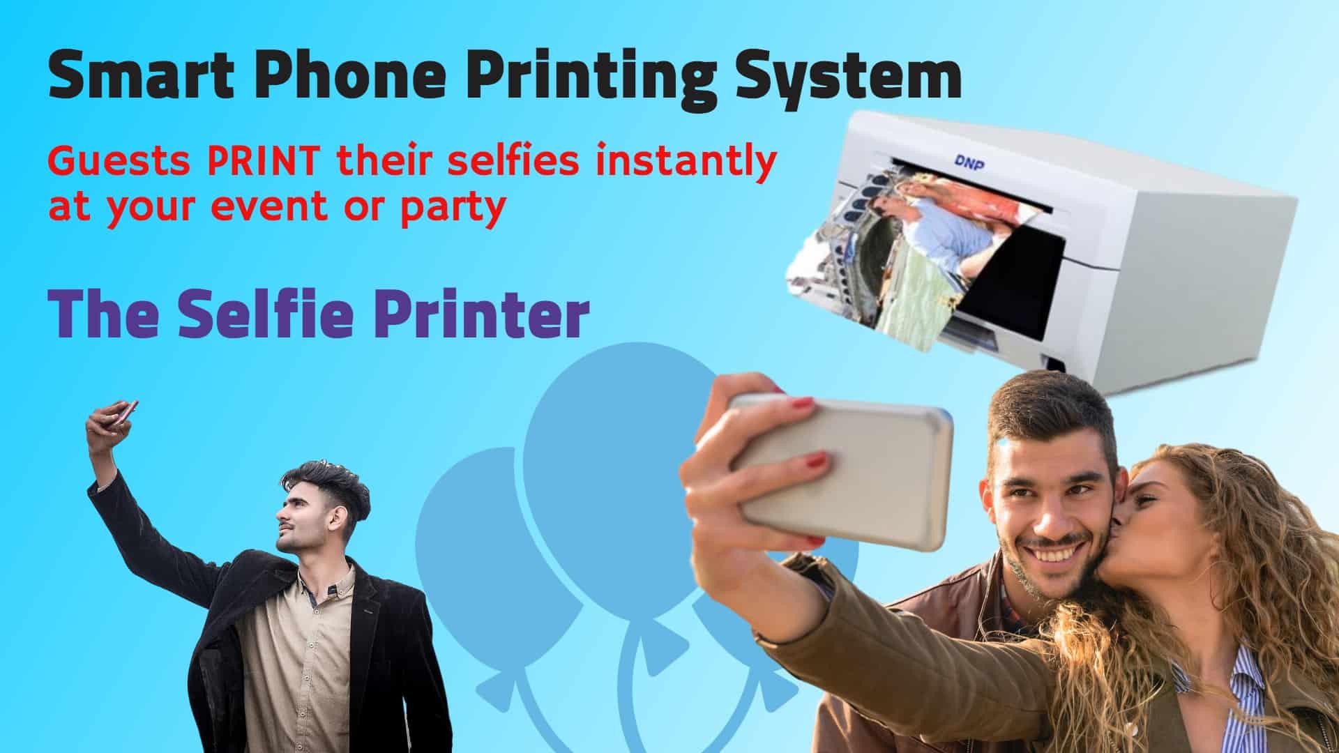 Selfie Printing System