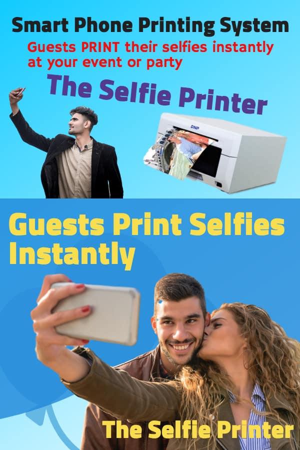 Selfie Image Printer Service