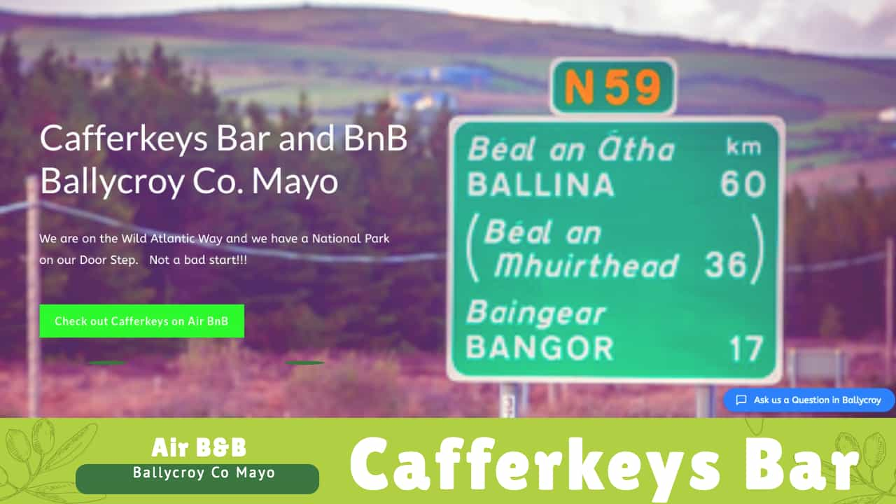 CafferkeysBar1 | Website Showcase | Web Development and Support Services