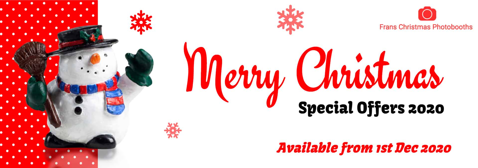 WebFPBChristmas Banner | Social Media Showcase | Web Development and Support Services
