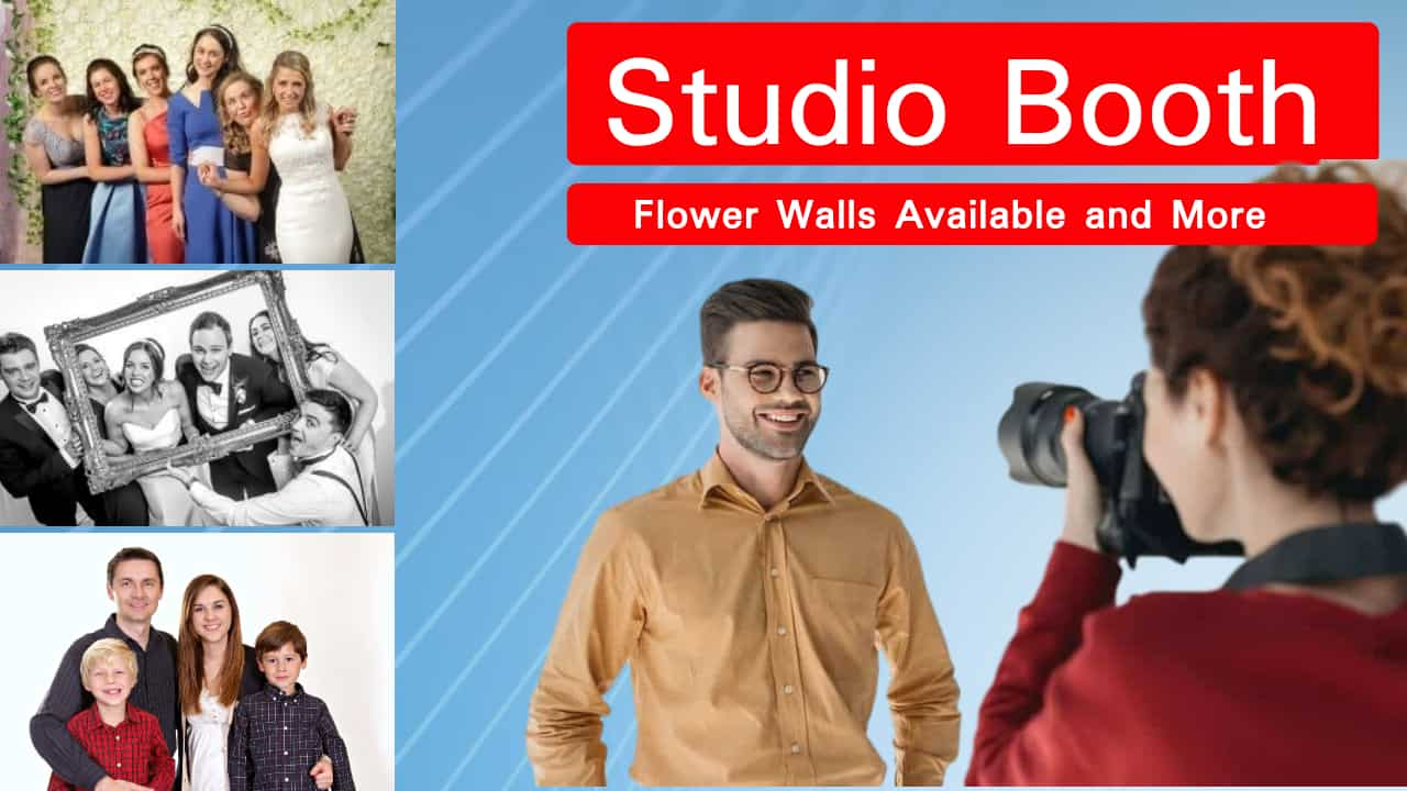Photo Studio Booth with instant printing in Ireland