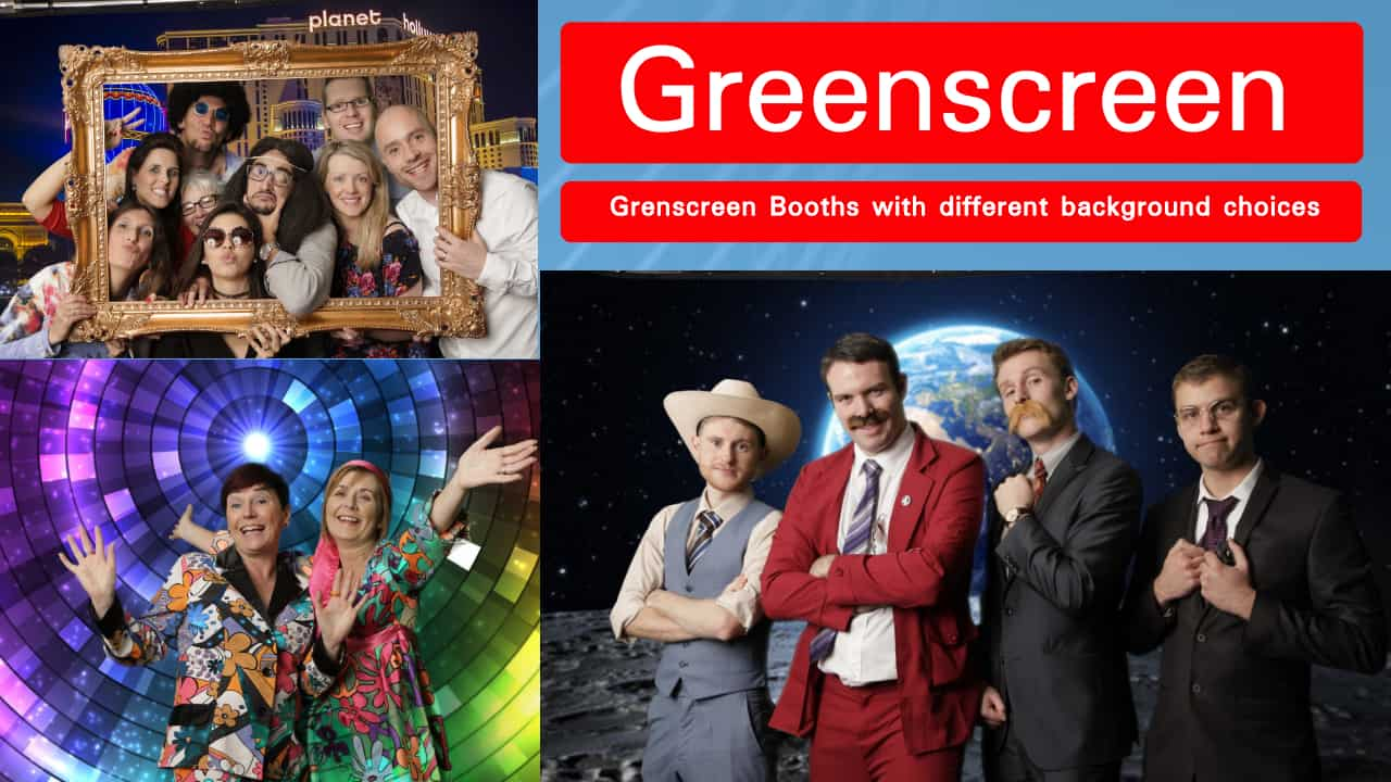 Greenscreen Photography at your event or wedding